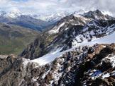 Via Normale Cima di Savoretta - Panorama dalla cima