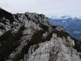Via Normale Cima ValFinestra - Sommità di cima ValFinestra.