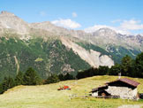Via Normale Corno di Boero - Il magnifico alpeggio di Boero.