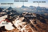 Via Normale Sassa d�Entova - Panorama di vetta verso SE