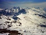 Via Normale Chilchalphorn - Panorama di vetta, verso E