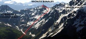 Via Normale Monte Rinalpi