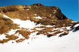 Via Normale Monte Rinalpi - Il Monte Rinalpi dai pressi del colle omonimo