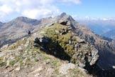 Via Normale Corno Tremoncelli - Cresta W - In vetta.
