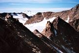 Via Normale Angelo Grande - Cresta SW - In discesa sulla cresta SW
