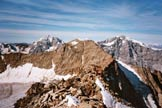 Via Normale Angelo Grande - Cresta SW - Gran Zebrù, Cima Vertana, Monte Zebrù e Ortles, dalla vetta