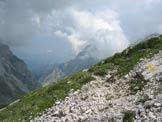 Via Normale Pizzo Cefalone (cresta N) - Il primo facile tratto di cresta