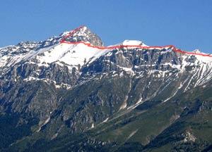 Via Normale Pizzo Cefalone (cresta E)