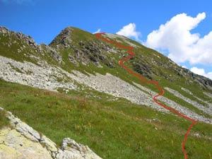 Via Normale Monte Cadelle