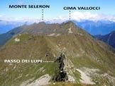 Via Normale Monte Cadelle - Panorama di vetta verso N