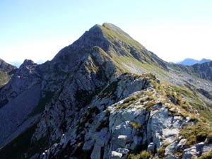 Via Normale Monte Cadelle - Cresta SW