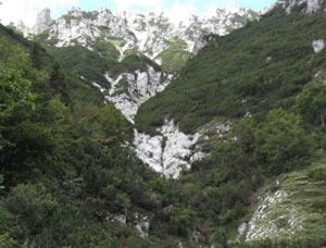 Via Normale Cima ValDritta - Vajo Val Dritta