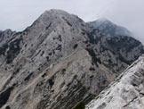 Via Normale Cima ValDritta - Vajo Val Dritta - Cima ValDritta vista dalla vicina Cima Fontanelle