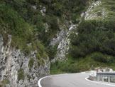 Via Normale Cima ValDritta - Vajo Val Dritta - L�attacco della via.