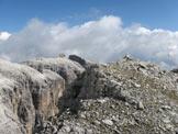 Via Normale Cima del Vallone - In cima