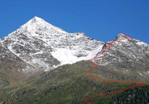 Via Normale Punta del Segnale - Cresta N