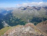 Via Normale Punta del Segnale - Cresta N - Dalla cima, sguardo verso la Valfurva.