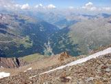 Via Normale Pizzo Tresero - Cresta W - Ultimi metri prima della vetta.