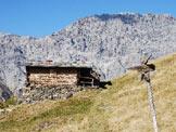 Via Normale Monte Forcellino - Via Normale da W - Indicazioni al bivio presso le Baite Cavallaro.