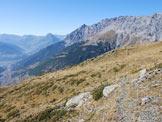 Via Normale Monte Forcellino - Via Normale da W - Poco sotto il Passo del Forcellino.