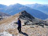Via Normale Monte Forcellino - Via Normale da W - Ultimi metri prima della vetta.