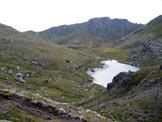Via Normale Gronton - Via Normale - La Valle dei Laghi da poco prima della Forcella di Bocche.