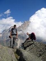 Via Normale Cavallazza Piccola - In cima.