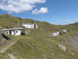 Via Normale Hochrast - Pausa Alta - Ruderi militari presso la vetta