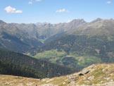 Via Normale Hochrast - Pausa Alta - Dalla cima verso i monti di Villgraten