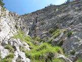 Via Normale Dente del Rifugio - Fessura Franceschini - La Fessura