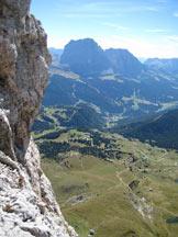 Via Normale Piccola Fermeda - Via Normale - Massima esposizione sulla Via normale.