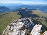 Via Normale Piccola Fermeda - Via Normale - Panorama dalla cima.