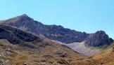 Via Normale Cima delle Malecoste - Vista dal piano del Venacquaro
