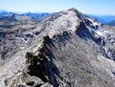Via Normale Pizzo Quadro - cresta SSW - Il Pizzo Sevino e la cresta SSW del Pizzo Quadro, dalla vetta