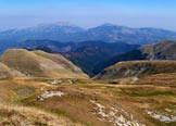 Via Normale Cima Lepri - Veduta a NE sui Monti Gemelli