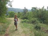 Via Normale Monte Cocusso - Kokoš - Sul sentiero che porta a Grozzana