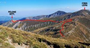 Via Normale Monte Pelone Settentrionale