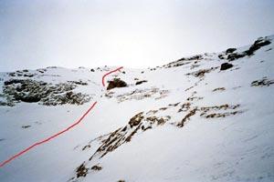 Via Normale Marmolada - Punta Penia (parete N)