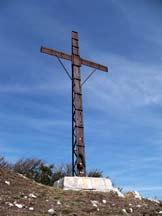Via Normale Monte Taburno - La croce di vetta