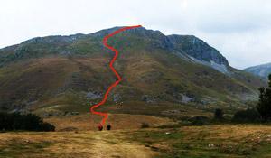 Via Normale Monte Ferruccia