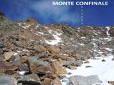 Via Normale Monte Confinale - Cresta SW - In avvicinamento alla cresta SW
