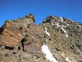 Via Normale Monte Confinale - Cresta SW - Aggiramento a destra del gendarme