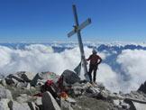 Via Normale Presanella (cresta E) - In cima