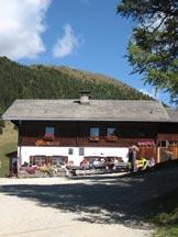 Via Normale Salzla - Monte di Tesido - La Nuova Malga di Tesido, punto di partenza