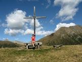 Via Normale Salzla - Monte di Tesido - In vetta, verso l´Amperspitz e il Rudlhorn