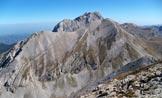 Via Normale Monte Corvo (cresta W) - Intermesoli, Corno Piccolo e Grande visti dalla cima