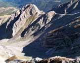 Via Normale Monte Corvo - Vetta Occidentale (cresta W) - Il Mozzone ed il Vallone Crivellaro, sul versante N