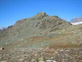 Via Normale Monte Spondascia - cresta ESE - La prima parte della cresta ESE, dal Passo di Campagneda