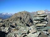 Via Normale Monte Spondascia - cresta ESE - Lungo la cresta ESE