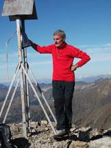 Via Normale Monte Cabianca - Il mio compagnoin vetta